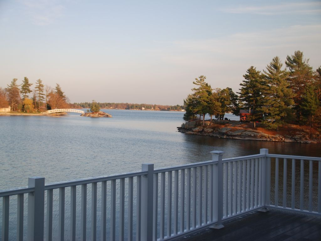 Check our new 12' x 25' deck & railing. View of surrounding